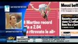 Atletica, di Martino: un volo da record