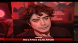 10/02/2011 - Roma, Riccardo Scamarcio a teatro con Romeo e Giulietta