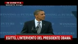 Egitto, l'intervento di Obama