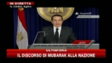 Mubarak: rester al potere fino a prossime elezioni