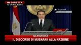 Mubarak: resterò al potere fino a prossime elezioni