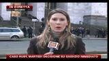 Caso Ruby, PDL Lombardia protesta davanti palazzo giustizia