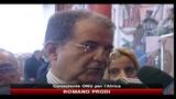 12/02/2011 - Nordafrica, Prodi: c'è un fortissimo risveglio di democrazia, anche se imperfetta