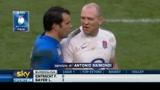 Rugby, Italia ancora battuta dall'Inghilterra
