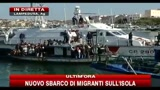 In corso nuovo sbarco di migranti sull'Isola