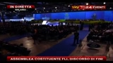 6 - Assemblea costituente FLI, discorso di Fini: serve bipolarismo diverso