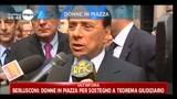 Berlusconi: donne in piazza per sostegno a teorema giudiziario