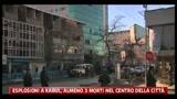 14/02/2011 - Kabul, almeno tre morti in centro città dopo un'esplosione