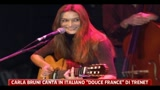 15/02/2011 - Musica, Carla Bruni canta Trenet