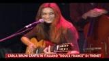 Musica, Carla Bruni canta Trenet