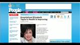 Migliorano le condizioni di salute di Elizabeth Taylor