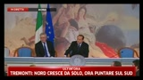16/02/2011 - Caso Ruby, Berlusconi: Non sono preoccupato