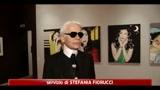 Karl Lagerfeld, lo stilista fotografo presenta la sua mostra