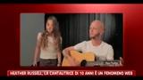 Heather Russel, la cantautrice di 10 anni è un fenomeno del web