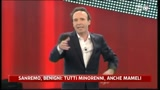 18/02/2011 - Sanremo, Benigni: tutti minorenni, anche Mameli