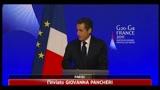 G20, Sarkozy: Si alla tassazione su transazioni finanziarie