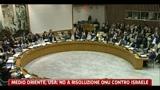 MO, Usa dicono no a risoluzione Onu contro Israele