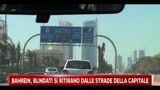 Barhein, blindati si ritirano dalle strade della capitale
