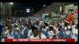 Rio, fervono i preparativi per il Carnevale
