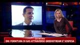 Eni- fornitura gas attraverso Greenstream è sospesa
