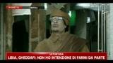 2- Gheddafi: Un gruppo di drogati attacca la nostra polizia