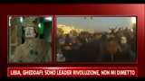 Libia, Gheddafi: sono il leader della rivoluzione, non mi dimetto