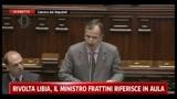 23/02/2011 - Rivolta Libia, il Ministro Frattini riferisce in aula