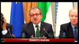 Crisi Libia, Maroni: serve fondo solidarietà UE