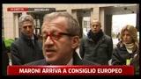 Immigrazione, Maroni: possiamo fronteggiare emrgenza per poco