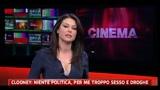 24/02/2011 - Clooney: niente politica, per me troppo sesso e droghe