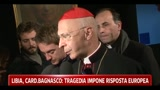 Libia, Cardinal Bagnasco: la tragedia impone una risposta europea