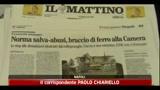 Decreto Milleproroghe, ruspe di nuovo in azione in Campania