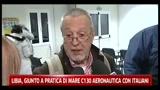 24/02/2011 - Libia, giunto a Pratica di Mare il C130 dell'aeronautica con gli italiani