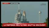 La partenza dell'ultimo Shuttle Discovery