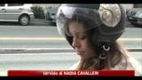 26/02/2011 - Caso Ruby, auto di Nadia Macrì incendiata durante la notte