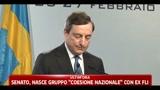 Draghi  In Italia la crescita stenta da 15 anni