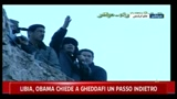 27/02/2011 - Libia, Obama chiede a Gheddafi un passo indietro