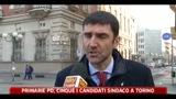 Primarie Pd, cinque i candidati sindaco a Torino