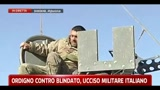 28/02/2011 - Ordigno contro blindato, ucciso un militare italiano
