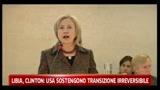 Libia, Usa sostengono transizione irreversibile