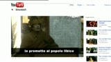 Gli Sgommati - Messaggio di Gheddafi su YouTube