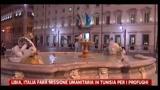 Libia, Italia farà missione umanitaria in Tunisia per i profughi