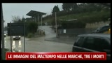 Le immagini del maltempo delle Marche, tre i morti