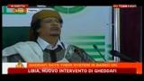 1 - Libia, nuovo intervento di Gheddafi