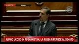 Alpino ucciso in Afghanistan, La Russa riferisce al Senato