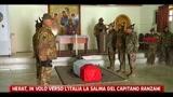 Herat, in volo verso l'Italia la salma del capitano Ranzani