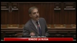 Intervento di La Russa alla Camera