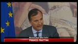 Frattini: ok a missione umanitaria tra Libia e Tunisia
