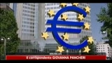 Crisi, Bce lascia tassi invariati all'1%
