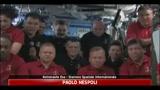 ISS, Nespoli in collegamento